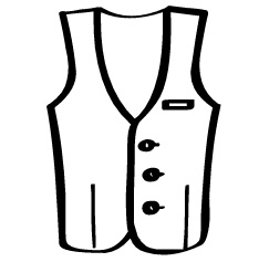 With Vest